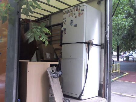 Стоячее положение холодильника