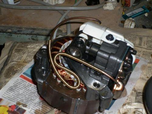 Схема расклинивания компрессора