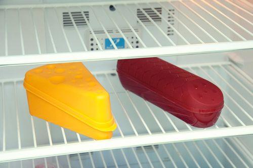 Хранение колбасы в специальном контейнере