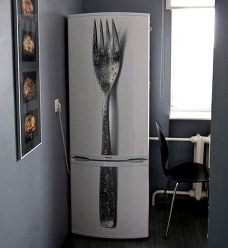 Вилка на кухне