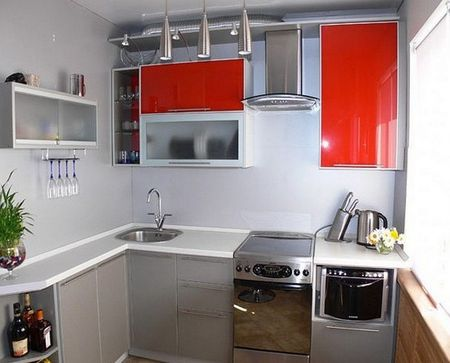 Кухня в хрущевке 4 кв. м.