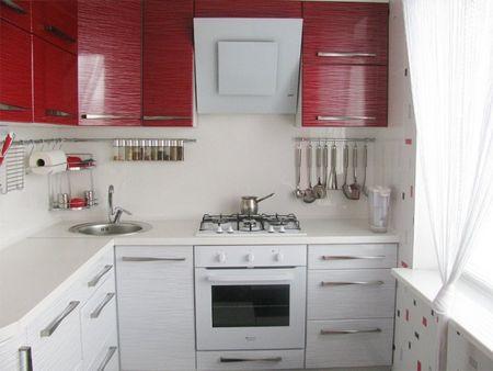 Как обустроить миниатюрную кухню 4 кв. м. с холодильником