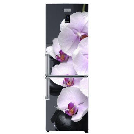 Цветочное оформление холодильника