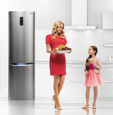 Функциональные возможности встраиваемых холодильников LG