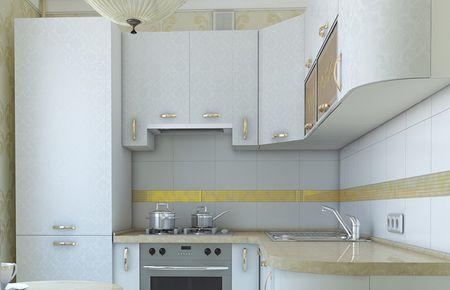 Холодильник возле электро плиты