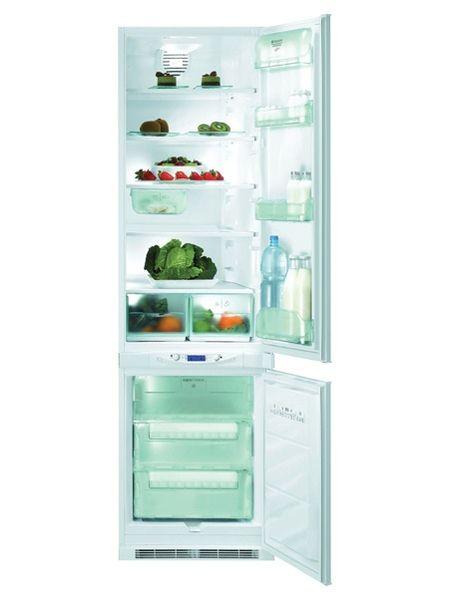 Встраиваемый двухкамерный холодильник Hotpoint-Ariston BCB FF