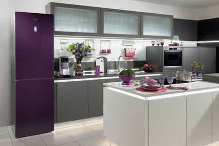 Холодильник шириной 50 см на небольшой кухне