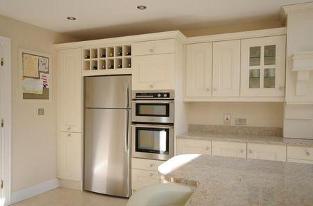 Холодильник SAMSUNG RT 53 K 6330 EF в интерьере кухни