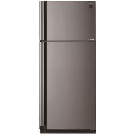 Холодильник Sharp SJ-XE700MSL серебристого цвета