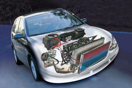 Система охлаждения в автомобиле