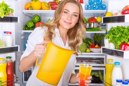 Сок из холодильника