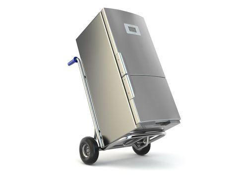 Можно ли холодильник перевозить лёжа на боку в машине