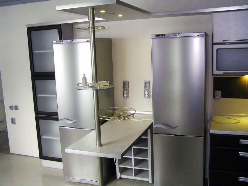 Стальные холодильники
