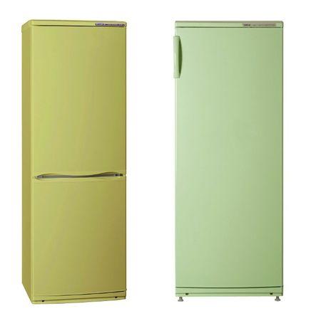 Зеленые холодильники Atlant