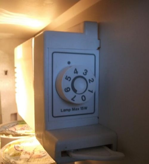 Регулятор температурного режима внутри камеры холодильника