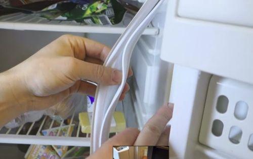 Замена своими руками уплотнителя холодильника стинол 81