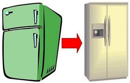 Обмен холодильника