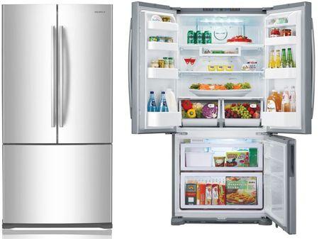Вместительный холодильник