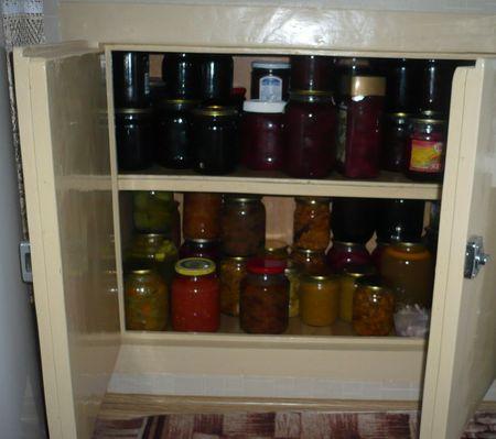 Ниша для хранения продуктов