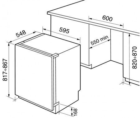 шкаф под встраиваемый холодильник на кухню как сделать своими руками