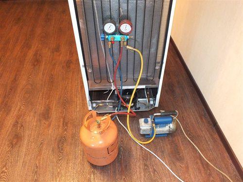 Инструкция по замене фреона в холодильнике