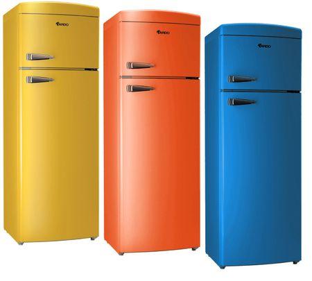 Холодильники в ретро стиле Ardo