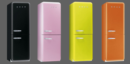 Холодильники в ретро стиле