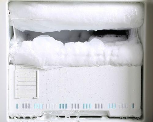 Снежная шапка в морозильнике