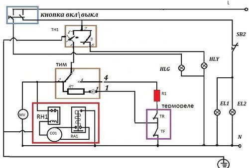 Схема холодильника аристон ноу фрост однокомпресарный