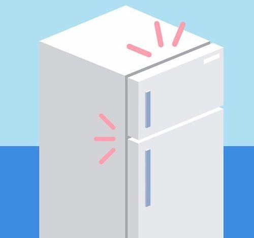 холодильник начинает пищать