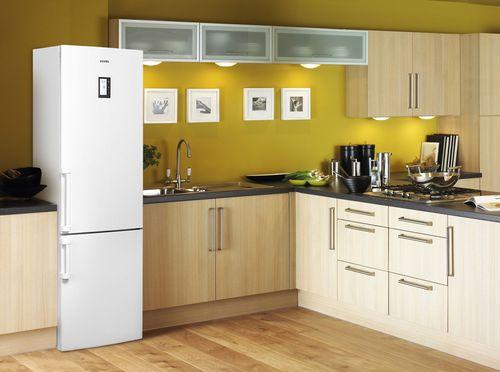 Встраиваемый холодильник в интерьере